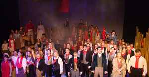 Rebellious Students hit the heights with Les Misérables