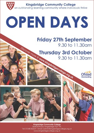 KCC Open Days Sep 19