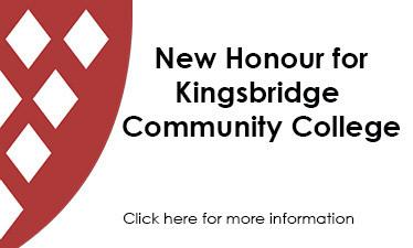 New Honour for Kingsbridge Community College