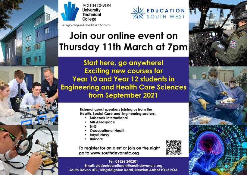 Utc new curriculum event a4 poster mar 2021 final