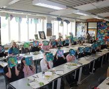 Yr9 emma jones art workshop