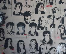 Yr10 street art portrait mural