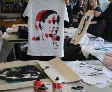 Yr10 street art workshop